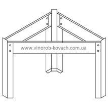 Нержавіюча підставка для ємності 420 мм купити в Луцьку