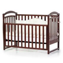 Кровать детская Соня ЛД6 без колiс, на нiжках (горiх)
