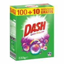 Dash пральний порошок для кольорової білизни 7,15 кг 110 прань оригінал
