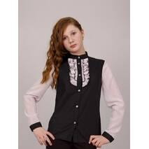 """Блузка детская для девочек школьная М-979  рост 158  тм """"Попелюшка"""""""