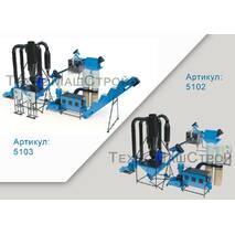 Оборудование для производства пеллет и комбикорма МЛГ-500 COMBI (производительность до 400 кг\час)