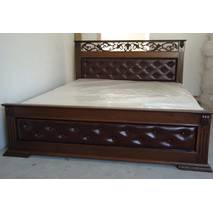 Ліжко Лорен з тумбами масив ясеня