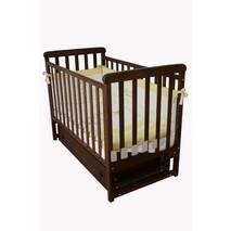 Кроватка детская Соня ЛД12 без колiс, на нiжках (орех)