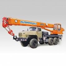 Автокран Клинцы КС-55713-3К-2 на базе УРАЛ-5557 купить в Украине
