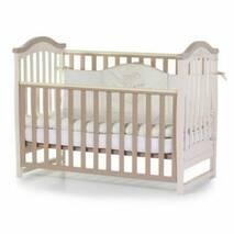 Кроватка детская Соня ЛД3 без колiс, на нiжках (капучино)
