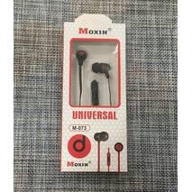 Навушники вакуумні з мікрофоном М-073 / М-051