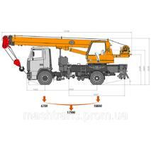 Автокран Клинцы КС-35719-5-02 на шасси МАЗ-5340 купить во Львове