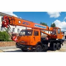 Автокран Клинцы КС-55713-1К-3 на базе КАМАЗ-65115 купить в Украине