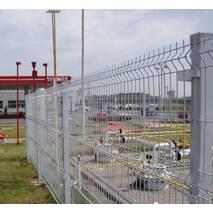Секции ограждения с изгибом Заграда Эко Стандарт с полимерным покрытием купить в Украине