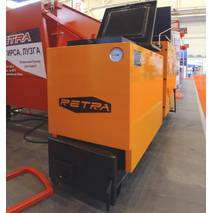 Котел твердопаливний РЕТРА-6М 11 кВт шахтний тривалого горіння