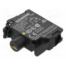 Модуль підсвічування з інтегрованим світлодіодом, 3SU1401-1BB30-1AA0, Siemens