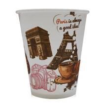 """Паперова скляночка для вендинга """"Париж"""", 175 мл"""