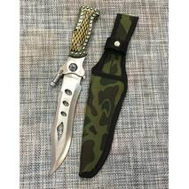 Мисливський ніж з ліхтариком 29см / Н-201