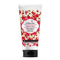 Крем для рук увлажняющий с ароматом мускусной розы. Hand Cream Careline Sweet Kiss. 100 мл.