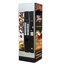 Брендована наклейка на кавовий автомат, Nero Aroma