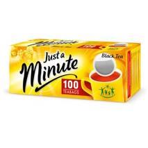 Чай в пакетиках Just a Minute, чорний, 1,4g*100 шт