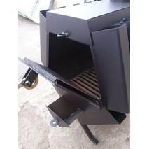 """Буржуйка """"Turbina - 120"""" конвектор з плитою для приготування їжі"""