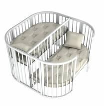 Ліжко Twins для двійні 110х110 біле