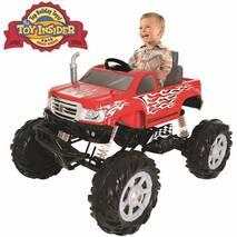 Электромобиль Rollplay Monster Truck 24v (цвет - red)