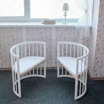 Ліжечко багатофункціональне Dreammy 7in1 Біле