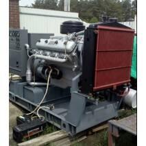 Генератор дизельный (электростанция - дизель-генератор) 100 кВт (125 кВа). Конверсионный. АСДА-100-Т/400. Двигатель ЯМЗ-238