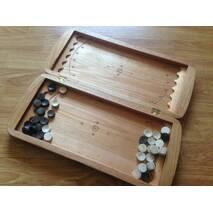 Нарди резьбленные (закруглені кути, великі)