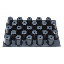 Кассеты для рассады на 25 ячеек по 154 мл. (DP65/25)
