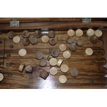 Нарди резьбленные (закруглені кути, середні )