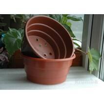 Квіткові горщики для хризантеми 1.5 л (17х8.5 см)