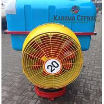 Опрыскиватель садовый вентиляторный (Польша) на 400 литров
