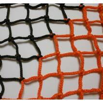 Сетка заградительная (разделительная) цветная для улиц и залов, 40х40, 4,5 мм