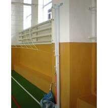 Стойки универсальные теннис/волейбол с устройством ременного натяжения