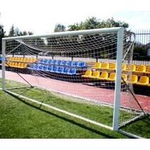 Ворота футбольные разборные «Юниор» алюминиевые Евро Профиль