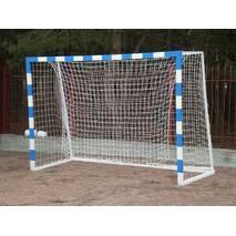 Ворота мини-футбольные 3000х2000 (разборные) с полосами