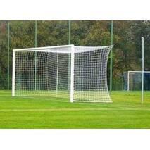 Ворота футбольные 7.32 х 2.44 м, (разборные), со стойками крепления сетки