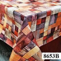 Клеенка (8653B) силиконовая, без основы, рулон. Китай. 1,37м/30м