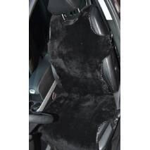 Авточохол з овчини (чорний, без підголовника)