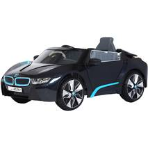 Электромобиль Rollplay BMW i8 Spyder 12v, RC (цвет - black)