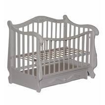Ліжко Колисани Корона біле