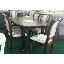Раскладной стол Карузо из массива дерева