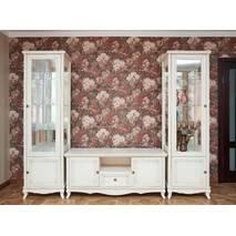 Белая стенка Венеция для гостиной