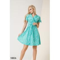 Женское платье 18826 ментоловый