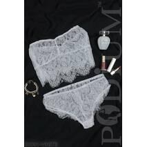 Женский комплект нижнего белья Precious (WHITE)