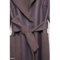 Легке дублене пальто