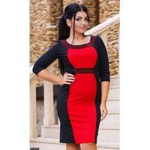 Платье 8511236-2 красный Осень-Зима 2017 Украина