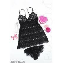 Женский комплект нижнего белья Eleonora (BLACK)