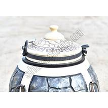 Тандыр средний Батыр-Хан Утепленный декорирован под камень