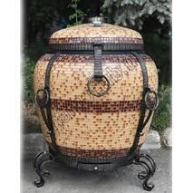 Тандир Великий Утепленний з Утепленою кришкою, в мозаїці