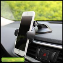 Держатель в авто iOttie Easy Flex 3 для телефонов чёрный (HLCRIO108MI)