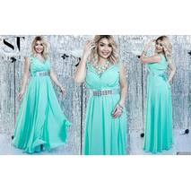 Вечернее  платье женское батал р.48-50  ST Style